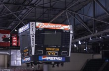 Walls & Interiors Budwieser & Budlight Megatron PA System Lit Panel Wraps