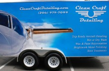 Box Trucks, Buses & Trailers Clean Craft Detailing Trailer Wrap