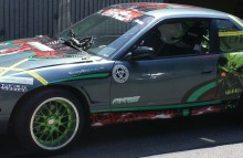 Digitally Printed Vehicles Nissan 240sx Partial Wrap