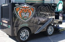 Box Trucks, Buses & Trailers Everett Silvertips Hockey Team Zamboni Wrap