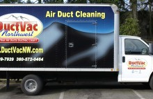 Box Trucks, Buses & Trailers DuctVac NW Air Duct Cleaning Box Truck Wrap