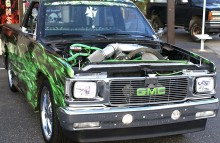 Digitally Printed Vehicles 1984 S-10 Custom Pickup Real Fire Flame Wrap