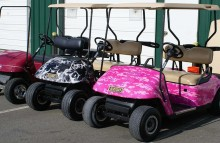 Digitally Printed Vehicles Hole In 3 Golf Cart Wraps