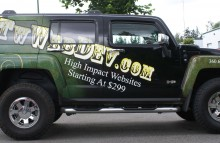 Cars Vans & Trucks TW Web Dev Partial Wrap