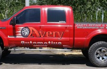 Cars Vans & Trucks Avery Automotive Pickup Graphics Kit