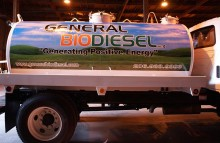 Box Trucks, Buses & Trailers General Biodiesel Tanker Truck Wrap