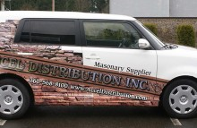 Cars Vans & Trucks Accel Distribution Inc. Car Wrap