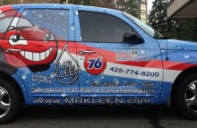 Cars Vans & Trucks Mr.Kleen Carwash Wrap