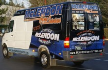 Cars Vans & Trucks McLendon Home Services Sprinter Van Wrap