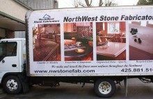 Box Trucks, Buses & Trailers NW Stone Fabricators Box Truck Wrap