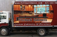 Box Trucks, Buses & Trailers Pilchuck Cabinets & Furniture Box Truck Wrap