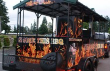 Box Trucks, Buses & Trailers Smoke This BBQ Trailer Wrap