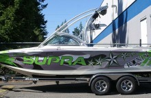 Boats 2010 Supra Launch Boat Wrap