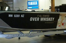 Boats Woodinville Whiskey Boat Wrap