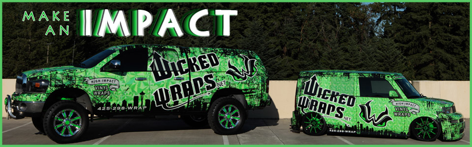 Wicked Wraps Fleet Vehicles