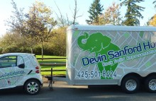 Box Trucks, Buses & Trailers Devin Sanford Homes Real Estate Wraps