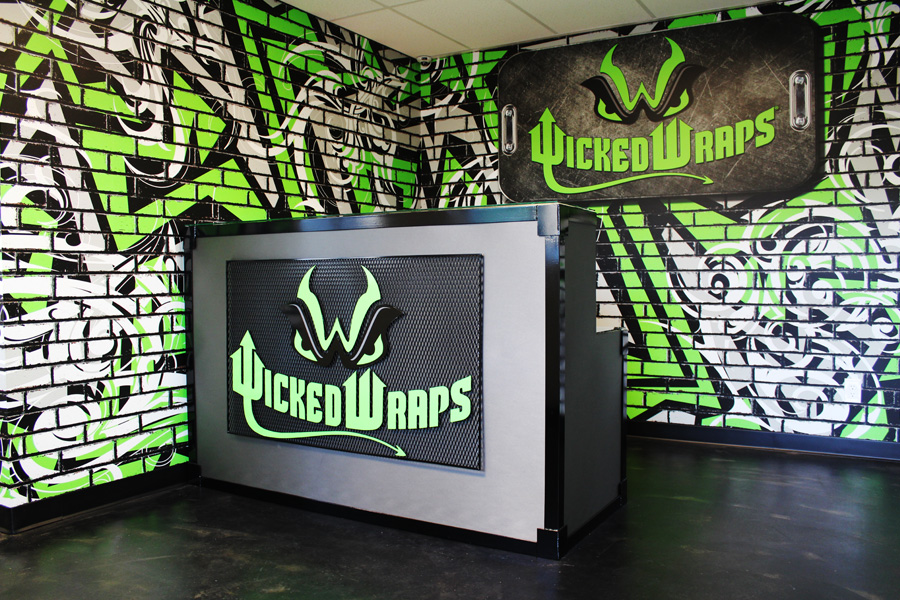 Wicked Wraps Reception Room