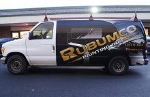 Cars Vans & Trucks Rubumco Painting Van