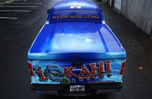 Cars Vans & Trucks Lokahi Clothing Brand Truck Back
