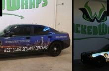 Cars Vans & Trucks West Coast Security Concepts Patrol Car