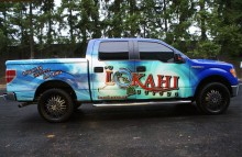 Cars Vans & Trucks Lokahi Clothing Brand Truck Side