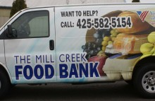 Cars Vans & Trucks The Mill Creek Food Bank Wrap