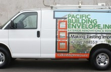 Cars Vans & Trucks Pacific Building Envelope Inc. Partial Wrap