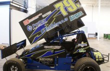 Digitally Printed Vehicles Pro Sprint Car