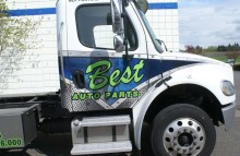 Cars Vans & Trucks Best Auto Parts Partial Wrap