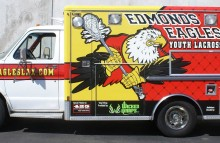 Box Trucks, Buses & Trailers Edmonds Eagles Youth Lacrosse Team Ambulance Wrap