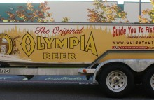 Boats Boat Wrap for The Original Olympia Beer