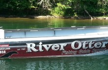 Boats Boat Wrap for River Otter Fishing Guide Service
