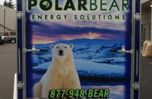 Box Trucks, Buses & Trailers Full Trailer Wrap for Polar Bear Energy Solutions NW