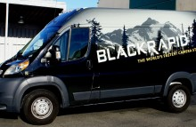 Cars Vans & Trucks Full Sprinter Wrap For Black Rapid
