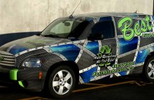 Cars Vans & Trucks Best Auto Parts Full HHR Wrap
