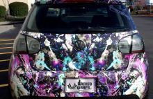 Digitally Printed Vehicles Full Customized Graphic Design Wrap