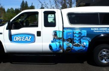 Cars Vans & Trucks Partial Wrap for Dri-Eaz