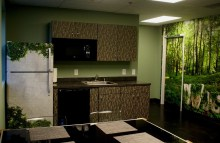 Walls & Interiors Full Refrigerator, Cabinet and Wall Wrap