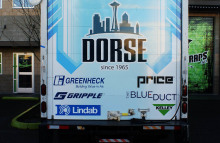 Box Trucks, Buses & Trailers Full Box Truck Wrap for Dorse & Company