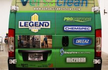 Cars Vans & Trucks Full Sprinter Wrap for Legend Brands Versa Clean