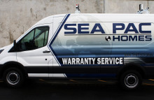 Cars Vans & Trucks Partial Wrap for Sea Pac Homes