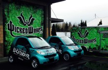 Cars Vans & Trucks Full Smart Car Wraps for El Cazador