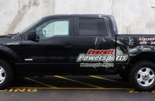 Cars Vans & Trucks Partial Wrap for Everett Power Sports