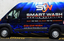 Cars Vans & Trucks Smart Wash Mobile Detailing Full Wrap