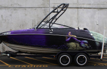Boats Full Customized Boat Wrap