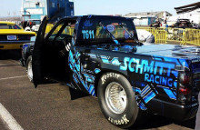 Digitally Printed Vehicles Customized Full Wrap on Chevy S10