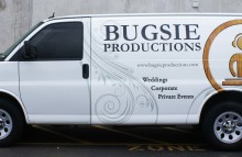 Cars Vans & Trucks Partial Van Wrap For Bugsie Productions