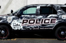 Sponsored Full Wrap for Mukilteo Police Department