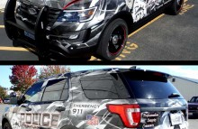 Cars Vans & Trucks Sponsored Full Wrap for Mukilteo Police Department