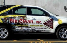 Cars Vans & Trucks Bio Clean Full Wrap On Chevy Equinox